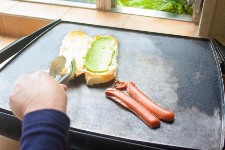 Guacamol en el Pan